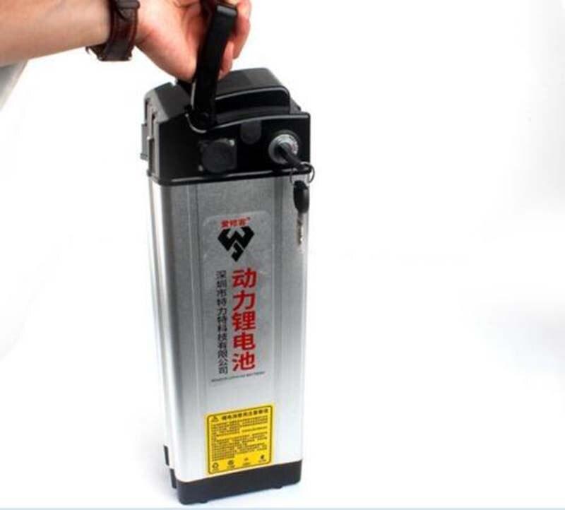 Batterie Rechargeable Li-ion 48 V 20ah avec malle de rangement arrière et chargeur ebike de haute qualité