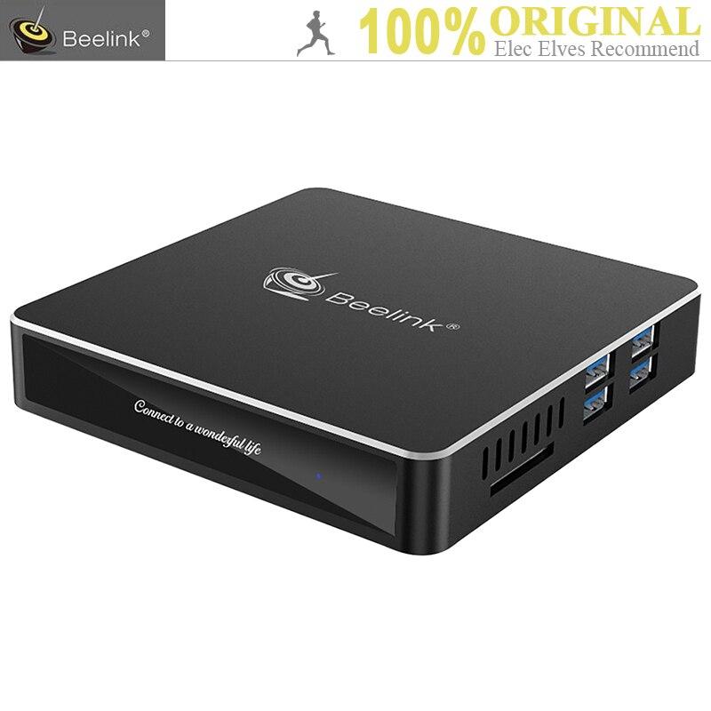 Beelink N41 TV Box Mini PC Intel Gemini Lac N4100 Intel HD Graphics 600 6 gb RAM 128 gb SSD 2.4g/5.8g WiFi 1000 Mbps USB3.0 BT4.0