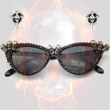 8a190265857 Popular Rhinestone Cat Eye Sunglasses-Buy Cheap Rhinestone Cat Eye Sunglasses  lots from China Rhinestone Cat Eye Sunglasses suppliers on Aliexpress.com