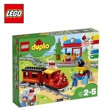Конструктор LEGO DUPLO Town 0 10874 Поезд на паровой тяге