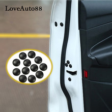 12pcs Car Door Lock Screw Protector Covers Trims For Ford Focus 3 2 Hatchback Sedan car Accessories(China)
