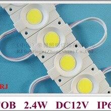 Светодиодный модуль впрыска круглый COB светодиодный знак буквенный Модуль светильник DC12V 2,4 Вт 240lm IP65 46 мм(L)* 30 мм(W)* 3 мм(H) Алюминиевая печатная плата CE ROHS