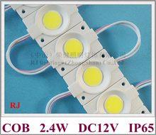 Módulo redondo de injeção de led, luz de módulo de letra de sinal de led dc12v 2.4w 240lm ip65 46mm (l) * 30mm (w) * 3mm (h) pcb ce de alumínio