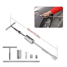 Car Dent Puller Tools Auto Repair Tool Car Dent Repair Dent Puller Kit 2 in 1 Slide Hammer Reverse Hammer Glue Tabs Suction Cups