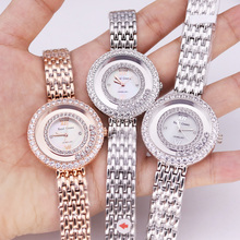 Lady Women's Watch Fine Fashion Mother-of-pearl Jewelry Hour