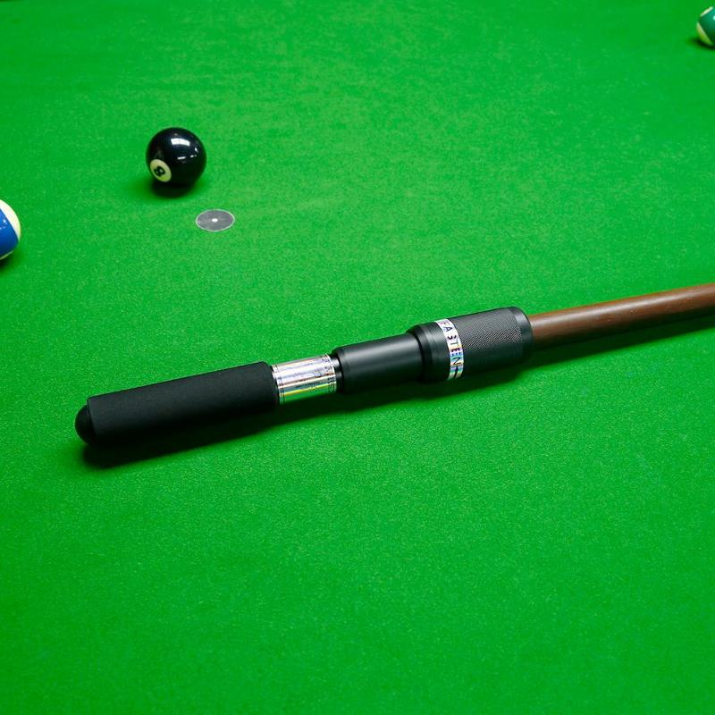 Pool Cue Extender Push On Telescopic Extension Nine Ball Billiard Pool Cue Extreme Extender Telescopic Billiard Accessories Extender