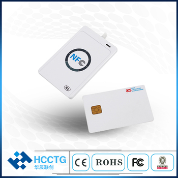 Free Shipping 13.56MHZ USB Contactless NFC Smart reader/Writer with free SDK ISO14443ACR122U