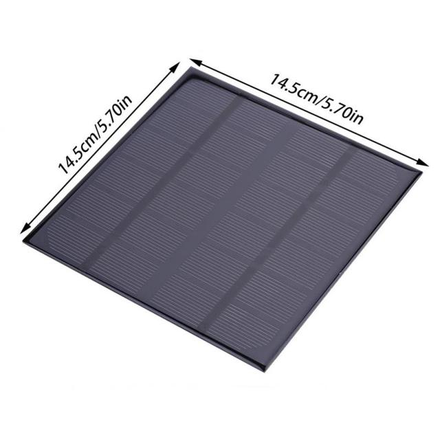 DC Solar Panel Output 3W 6V Monocrystalline Silicon Solar Panel Module Battery Lamp Charger