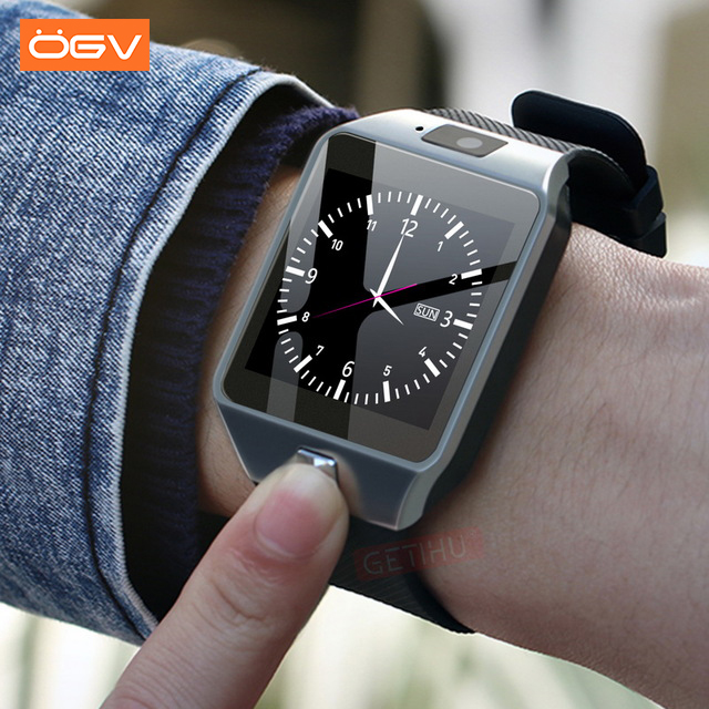 OGV Bluetooth Smart Watch Wearable Devices DZ09 Electronics Wrist Phone Watch Support SIM TF Card For smartphone Smartwatch