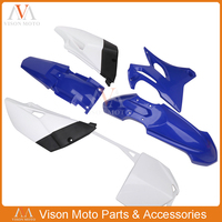 Complete Body Plastics Kits Fender Number Plate Fairings For Yamaha YZ85 YZ 85 2015 2016 2017 2018 Motorcycle