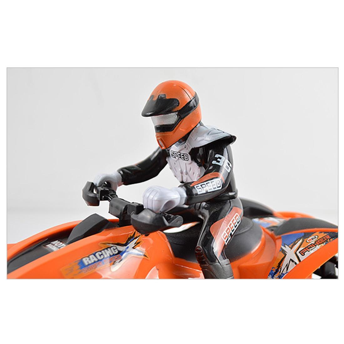 Children Boys Toy Remote Control Toys Motocross Boy Girl Four-wheeled RC Motorcycle Cool Toy Car Toys & Hobbies EU Plug Orange Pakistan