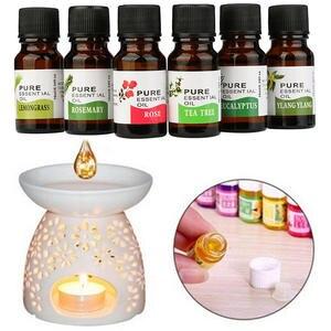 Aroma-Humidifier Fragrance Essential-Oil 10ml Flower Fruit TSLM2 Dropper Air-Freshening