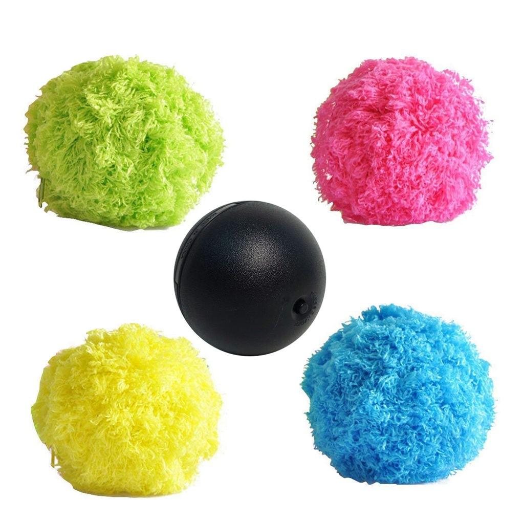 Горячая Распродажа 1 автоматического Вакуумный подметания пола Робот круглый скребок игрушечный мяч для питомца
