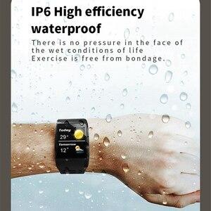Image 4 - Z01 สร้อยข้อมือสมาร์ท Ip67 กันน้ำ Fitness Tracker กิจกรรม Pedometer สายรัดข้อมือ Big Dial Smartband Heart Rate สมาร์ท Ba