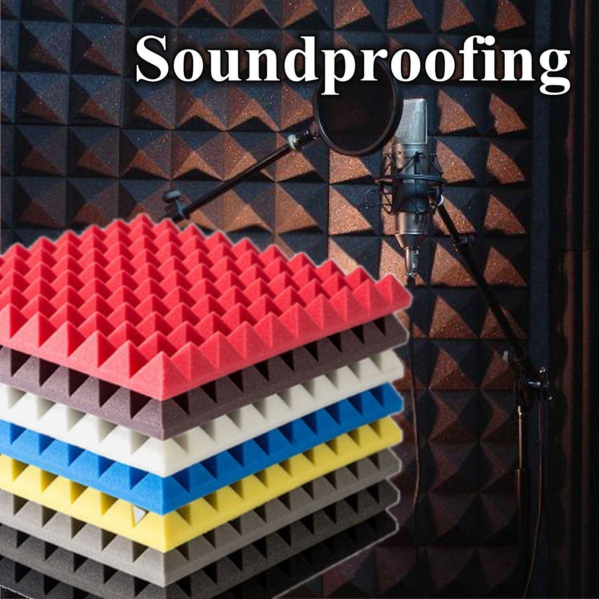 1 Uds 250x250x50mm espuma insonorizada aislante de sonido absorción acústica para piezas de instrumentos musicales de espuma de estudio Accesorios Puzle 3D modelo de espuma segura, arquitectura de construcción Diy, casa Diy rosa, muebles de cama para niñas, juguetes para niños