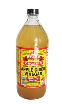 Vinagre de sidra de manzana orgánico Bragg de importación original de Estados...