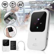 4G LTE Wi-Fi беспроводной маршрутизатор на точке доступа светодиодный свет поддерживает 10 пользователей Портативный модем-маршрутизатор для автомобиля домашней мобильной путешествия отдых