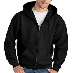 Men Full Zip Long Sleeved Hooded Sweatshirt Fashion Pure Color Autumn Winter All-match Clothes Coat Top Hoodies Men 1