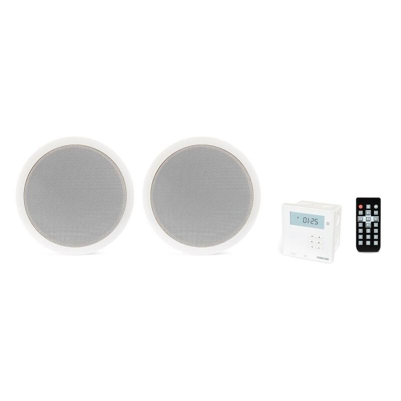 OUTLET KS-06 Sound Kit For Recessed Cealing With Bluetooth, MP3, And Radio FM, LCD Display Fonestar