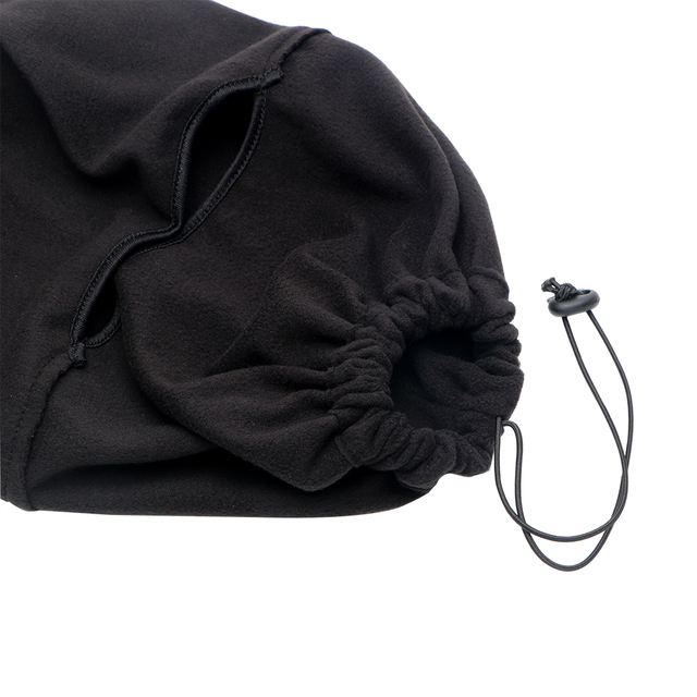 FORAUTO Black Balaclava Full Face Cover Cap Fleece Mask Windproof Hat Winter Stopper Motorcycle Face Mask 2