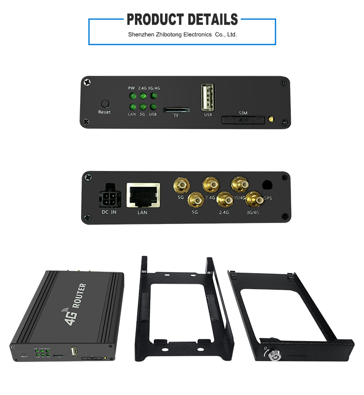 Dual band 3G 4G Sim Card Slot 4G Mobile Router Wifi 3G 4G Modem BUS or Car 4G Router MT7620A 5 8G wifi repeater Lte Wifi in Wireless Routers from Computer Office