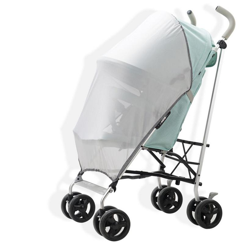 Baby Stroller Sun Block UV Resistant Mosquito Nets Children's Trolley Universal Stroller With An Umbrella Mosquito Net