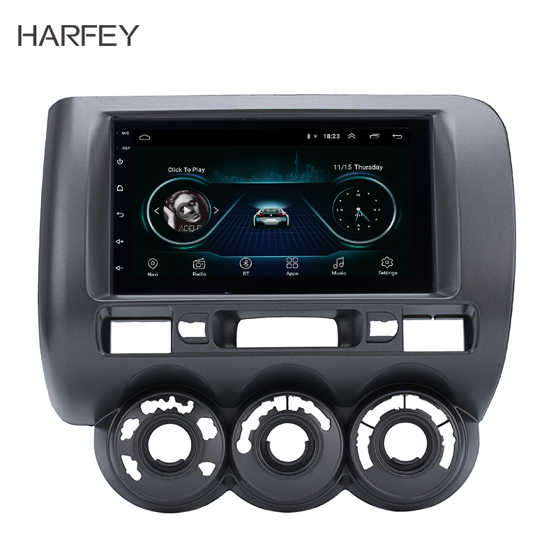 Harfey 2din Android 81 для 2002 2003 2008 Honda Jazz руководство