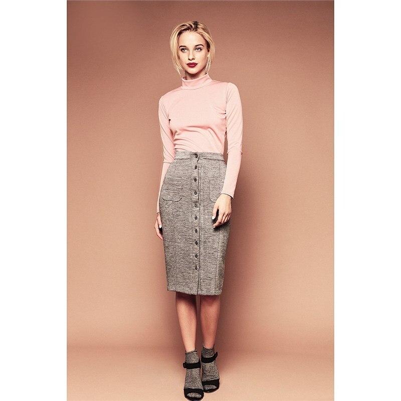 Skirt C.H.I.C female CHIC solid pleated skirt