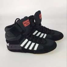 Professional  Wrestling Shoe For Kids Boxing Shoes Child Size 30-35 children Soft Oxford Sneakers FT21