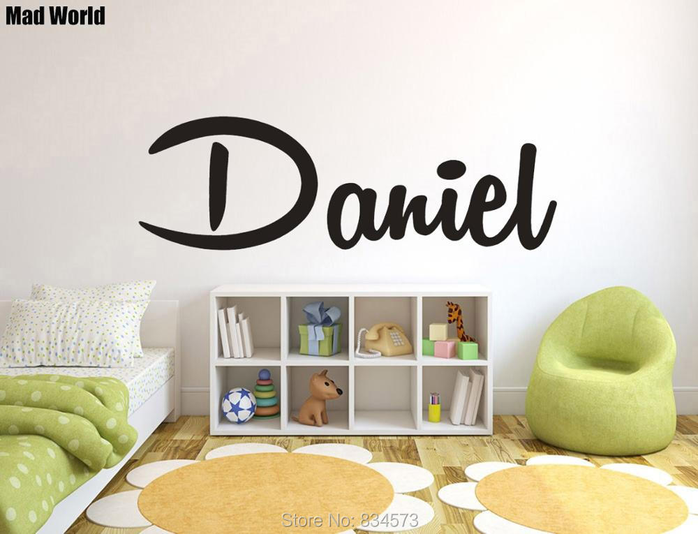 Big Offer Personalized Custom Name Baby Name Nursery Wall