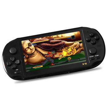 X12 8 GB Handheld gry gracze 5 1 ekran konsole do gier wideo z podwójne Rocker obsługuje karty TF do 32G przenośna konsola do gier tanie i dobre opinie X12 Handheld Game Players DLA dzieci 5 1inch 32GB