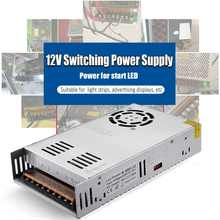 DC 12 V Switching Power Supply Driver untuk LED Strip Adapter 15/12/24/36/48 /60/72/100/120/150/180/200/240/300/400 W Power Supply(China)