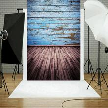 Photo Background Old-House Studio Video Home-Decoration Wood Retro Art-Cloth Printed
