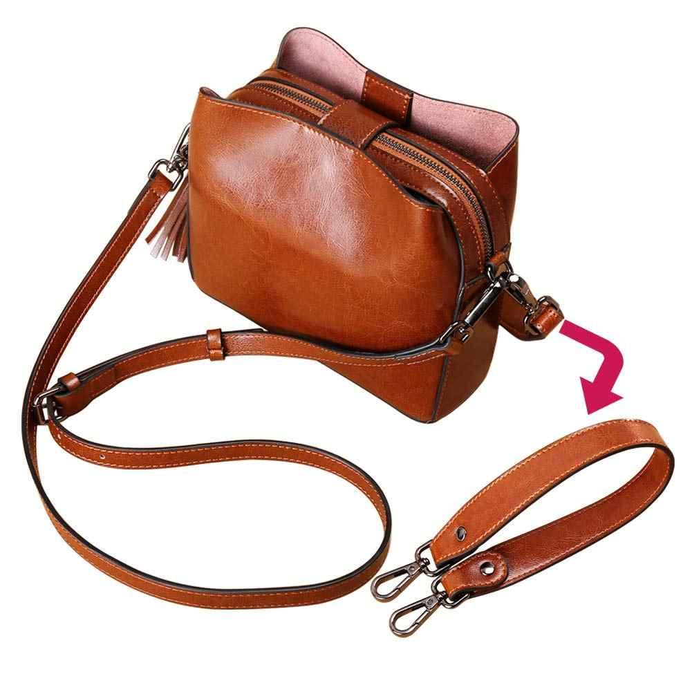 a132e9abb0b0 ... ICON Women's Leather Small Crossbody Bag Wristlet Clutch Crossbody Purse  & Top-Handle Handbag Shoulder ...