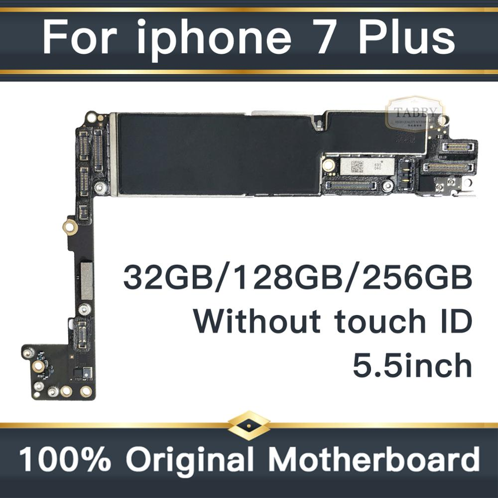 Factory Unlock Original Motherboard For iPhone 7 Plus 5.5inch No Touch ID Mainboard IOS Installed Logic Board 32GB/128GB/256GBFactory Unlock Original Motherboard For iPhone 7 Plus 5.5inch No Touch ID Mainboard IOS Installed Logic Board 32GB/128GB/256GB