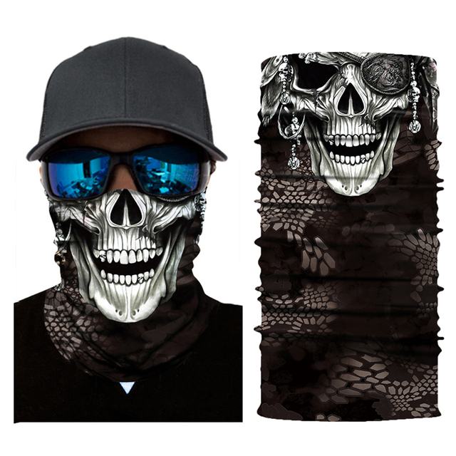 Motorcycle Face Mask Motorbike Headwear Riding Scarf Cycling Neck Headband Fullface Shield Mask Moto Helmet Bandana Motera Cap 3