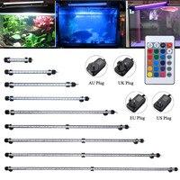 RGB LED Aquarium Fish Tank Light Bar Dompelpompen Plant Grow Lamp 48 CM voor 50-60 aquarium IP68 waterdichte Licht AU/EU/UK/US Plug