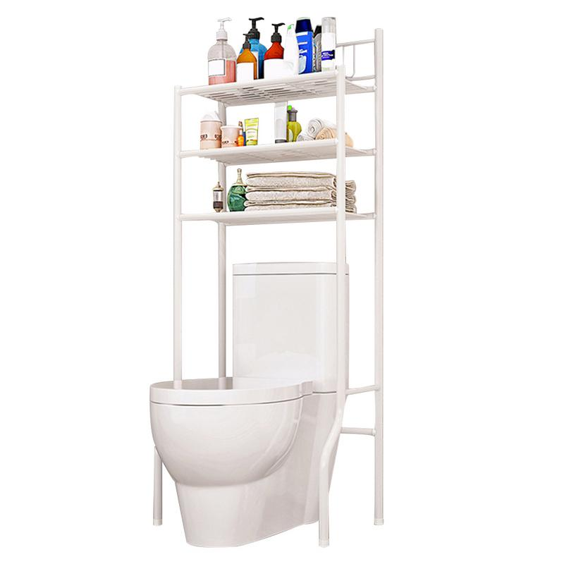Home Improvement Creative Balcony Hanging Wall Kitchen Storage Rack Mul Tifunctional Free Combination Bathroom Toilet Shelf