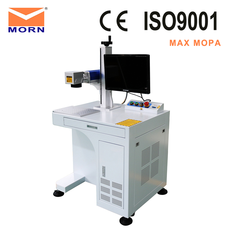Factory price mopa fiber <font><b>laser</b></font> marking machine <font><b>cnc</b></font> optical fiber marker <font><b>20w</b></font> 30w color marking mopa image