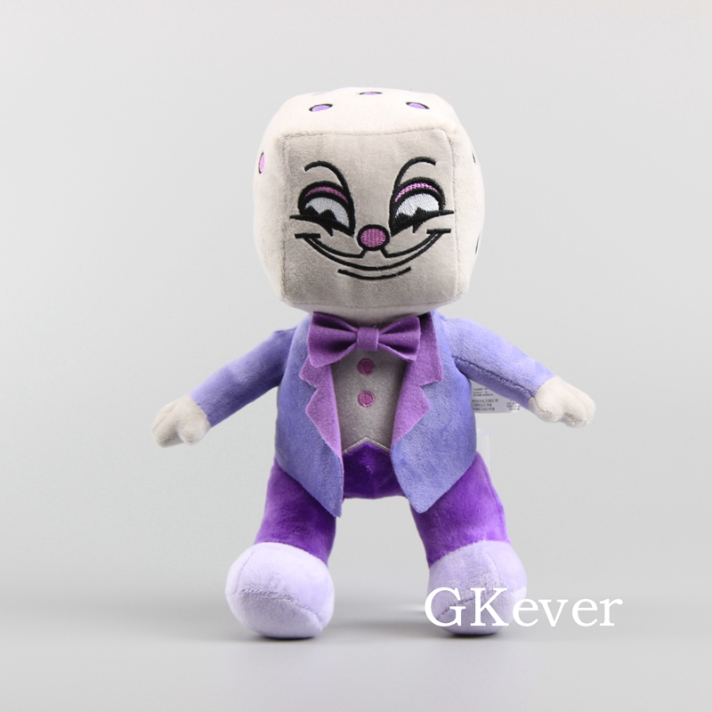 13 Styles Game Cuphead Plush Mugman Devil Ms. Chalice King Dice Ghost Mermaid Cala Maria Plush Toys Stuffed Doll Kids Gift 25 cm 2