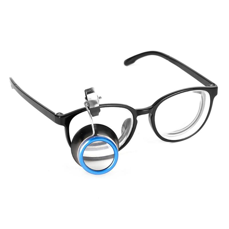 10x Clip-On Eyeglass Magnifier for Watch Tools Loupes Magnifying Lens Watchmakers Jewellers Tool Watch Repair Tool