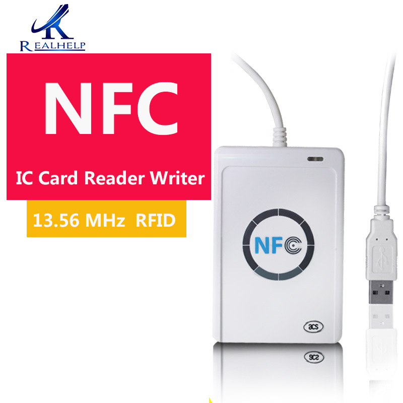 High Quality 13.56 MHz IC NFC Card Reader Writer RFID Smart Copier ISO/IEC18092+5pcs M1  USB USB 2.0 Full Speed Interface