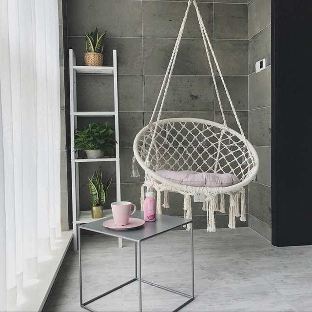 Swinging Outdoor Hammock Chair 2