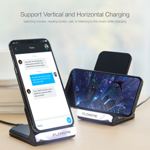 FLOVEME 10W Wireless Charger For iPhone 8 / X Plus Charging Fast Samsung Galaxy S8 S7 Edge