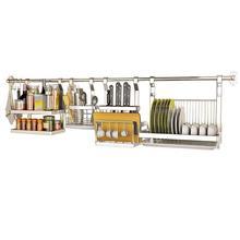 Cucina Sink Sponge Dish Organizer Especias Almacenamiento Stainless Steel Organizador Mutfak Cocina Kitchen Storage Rack Holder
