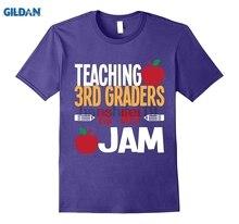 GILDAN Teaching 3rd Graders Is My Jam Cute Teacher T-Shirt