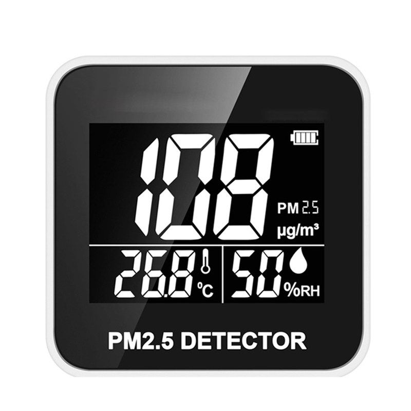 Digital Air Quality Monitor Laser PM2.5 Detector Gas Temperature Humidity Monitor Analyzer Diagnostic Health Care Tool DurableDigital Air Quality Monitor Laser PM2.5 Detector Gas Temperature Humidity Monitor Analyzer Diagnostic Health Care Tool Durable