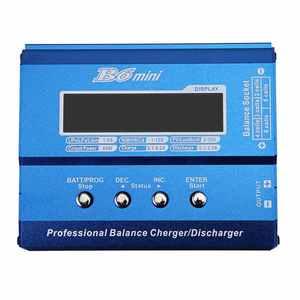 Image 2 - LEORY iMAX B6 Mini 80W 5A DC Batterie Balance Ladegerät XT60 Stecker mit Netzteil Balance Ladegerät Entlader für RC Hubschrauber