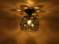 Vintage Ceiling Lights Lamparas lustre Luminaria Abajur Ceiling Lamps Home Lighting E27 Luminaire Living Room Lights