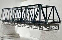 1/87 Train Model Ho Scale Plastic Elevated Railway Bridge DIY Building Kit Model Sand Table Toys for children Free Shipping